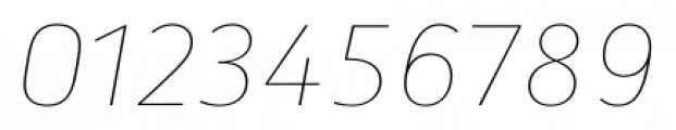 Secca Hairline 15 Italic Font OTHER CHARS