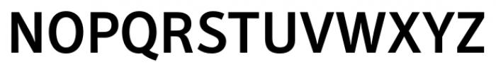 Secca Medium Font UPPERCASE