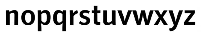 Secca Medium Font LOWERCASE