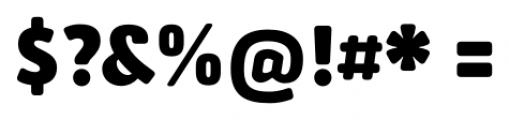 Secca Soft Black Font OTHER CHARS