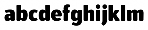 Secca Soft Black Font LOWERCASE