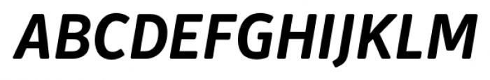 Secca Soft Bold Italic Font UPPERCASE