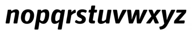 Secca Soft Bold Italic Font LOWERCASE