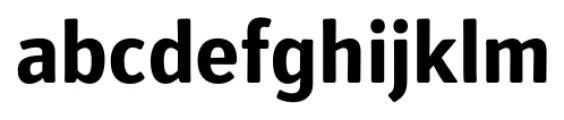 Secca Soft Bold Font LOWERCASE