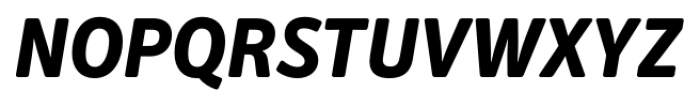 Secca Soft Extra Bold Italic Font UPPERCASE