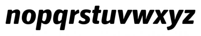 Secca Soft Extra Bold Italic Font LOWERCASE