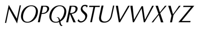 Seminar SRF Oblique  Font UPPERCASE
