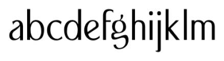 Seminar SRF Regular Font LOWERCASE
