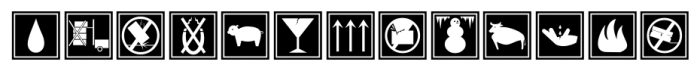 Sendit Safely JNL Regular Font UPPERCASE