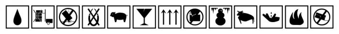 Sendit Safely JNL Regular Font LOWERCASE