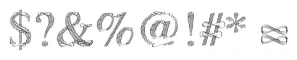 Sevigny Regular Font OTHER CHARS