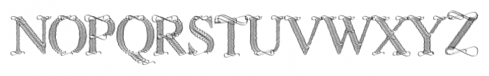 Sevigny Regular Font UPPERCASE