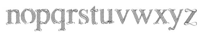 Sevigny Regular Font LOWERCASE