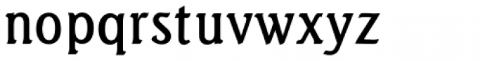 Seagull URW Medium Font LOWERCASE