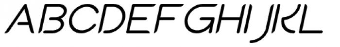 Sean Henrich ATF Italic Font UPPERCASE