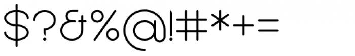 Sean Henrich ATF Light Font OTHER CHARS