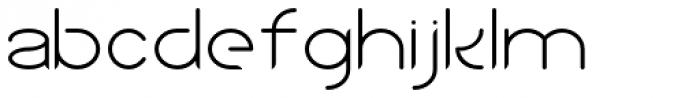 Sean Henrich ATF Light Font LOWERCASE