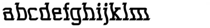Seasick Extra Bold Font LOWERCASE
