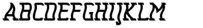Seasick Mirror Extra Bold Font UPPERCASE