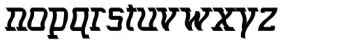 Seasick Mirror Extra Bold Font LOWERCASE