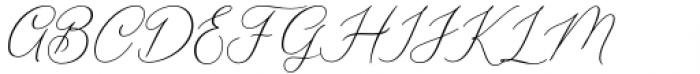 Seathera Regular Font UPPERCASE
