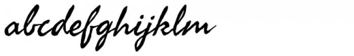 Seaweed Script Pro Font LOWERCASE