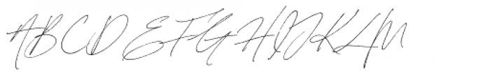 Sebastian Bobby Alt Slanted Font UPPERCASE