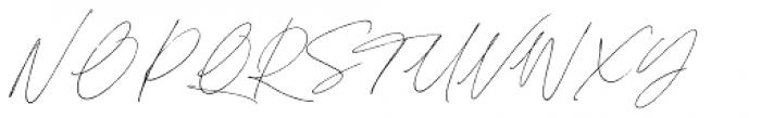 Sebastian Bobby Regular Font UPPERCASE