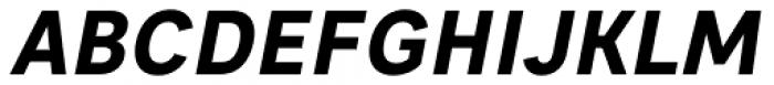 Sebino Extra Bold Italic Font UPPERCASE