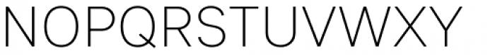 Sebino Extra Light Font UPPERCASE