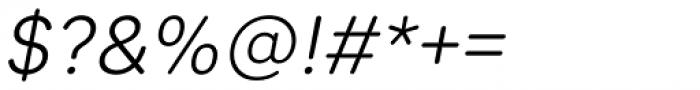 Sebino Soft Light Italic Font OTHER CHARS