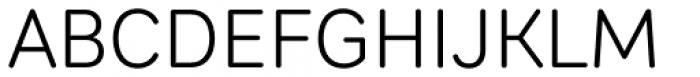 Sebino Soft Light Font UPPERCASE