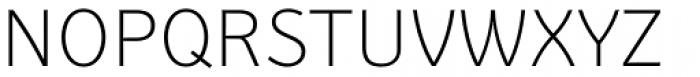 Secca Art Std Thin Font UPPERCASE
