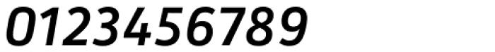 Secca Medium Italic Font OTHER CHARS
