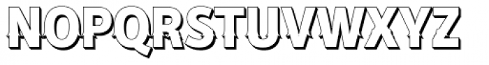 Secca Saloon Std ExtraBold S Font UPPERCASE