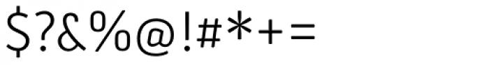 Secca Soft Light Font OTHER CHARS