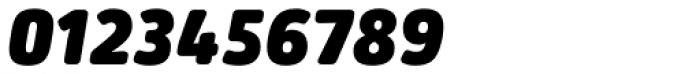 Secca Soft Ultra Black Italic Font OTHER CHARS
