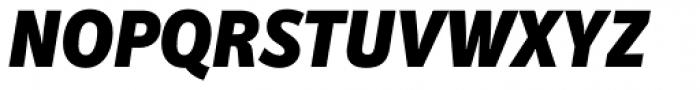 Secca Std Black Italic Font UPPERCASE