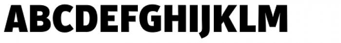 Secca Std Black Font UPPERCASE