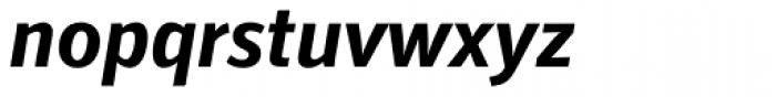 Secca Std Bold Italic Font LOWERCASE