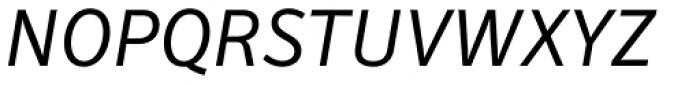Secca Std Italic Font UPPERCASE