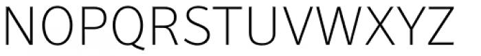 Secca Thin Font UPPERCASE