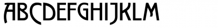 Secession SCOSF Text Font UPPERCASE