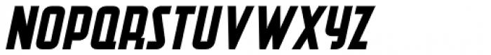 Second Guess Oblique JNL Font UPPERCASE
