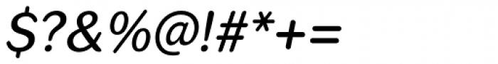 Seconda Round Medium Italic Font OTHER CHARS