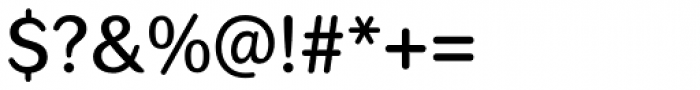 Seconda Round Medium Font OTHER CHARS