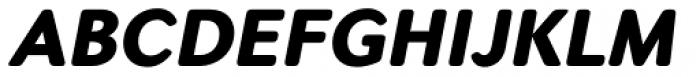Seconda Soft Black Italic Font UPPERCASE