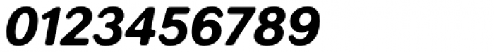 Seconda XtraSoft Heavy Italic Font OTHER CHARS