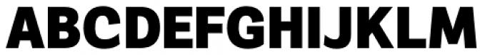 Segaon Black Font UPPERCASE