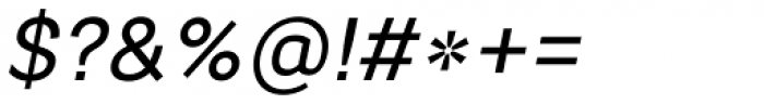 Segaon Italic Font OTHER CHARS